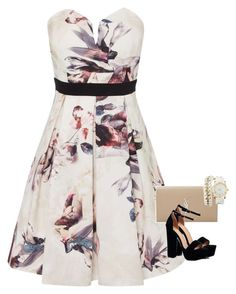 """""""Untitled #493"""" by purple-star31 on Polyvore featuring Little Mistress, Yves Saint Laurent, Boohoo and Charlotte Russe"""