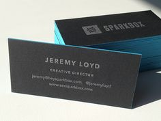 Sparkbox Business Cards