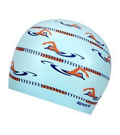Sporti Long Course Silicone Swim Cap at SwimOutlet.com