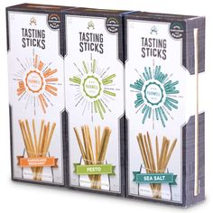 Pairwell Tasting Sticks are made with quality, all natural ingredients and are complete with our proprietary flour mix and extra virgin olive oil to create superb texture and taste. Baked in the heart of Piedmont, Italy, our Grissini style breadsticks couple with wine to bring you the ultimate snacking experience!