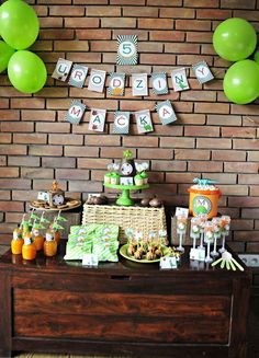 Dinosaurs Birthday Party Ideas | Photo 1 of 10 | Catch My Party