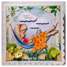 Hammock Days - Digital Stamp