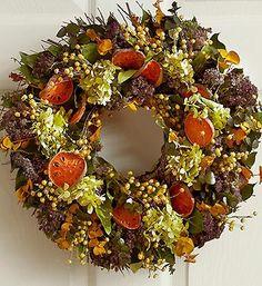 Autumn Elegance Wreath