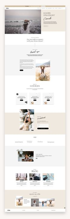 Tribe is a stylish, clean and elegant theme with subtle tones and stunning typography.