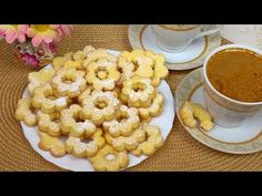Pyszne Kruche Ciastka - bez proszku do pieczenia - YouTube Cereal, Make It Yourself, Vegetables, Breakfast, Sissi, Food, Youtube, Morning Coffee, Veggies