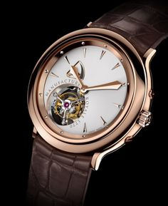 MANUFACTURE ROYALE 1770 Flying Tourbillon Rose Gold #Watch