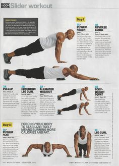 46 best slider workout images  workout slider exercises