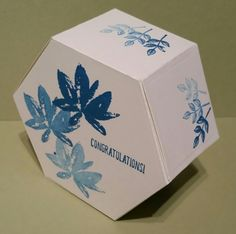 Stampin with Karen Spreckley - Stampin Up Window Box and Avant-Garden Hexagon Box, Stampin Up Anleitung, Box Maker, Boxes And Bows, Simply Stamps, Creative Box, Box Houses, How To Make Box, Pretty Box