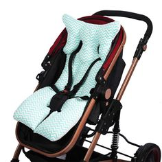 New Baby Stroller Cushion Baby Infant Stroller Seat Pushchair Cushion Cotton Mat Cushion Baby Stroller #Affiliate