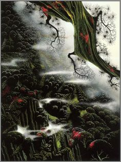 Wisps of Fog and Branch - 1996