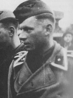 Twenty-seven year old Michael Wittmann in the uniform of an SS-Unterscharführer, taken in Greece sometime in the late Spring of 1941.