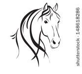 Horse Head Silhouette | Download Horse Silhouette clip art Vector For Free !
