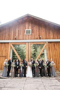 Real Weddings: Romantic Ranch Life Sundance Mountain Resort | Utah Bride and Groom