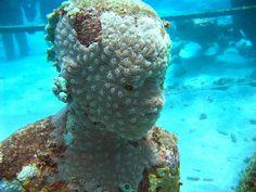 Underwater sculpture by Michael Brashier