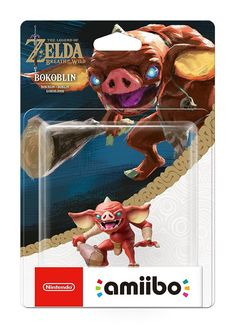 Amiibo Bokoblin (The Legend of Zelda Collection) - WII U - Switch - Acheter vendre sur Référence Gaming