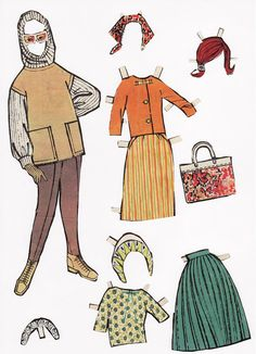 """Susanne - Lea-Anna Grinderslev - Picasa Webalbum*1500 free paper dolls at Arielle Gabriel""""s The International Paper Doll Society and free Chinese Japanese paper dolls at The China Adventures of Arielle Gabriel *"""