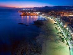 Arrecife beach, Lanzarote