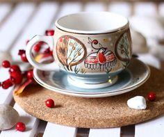 $18.00 Round Cup & Saucer Set - Ceramics - Gifts…