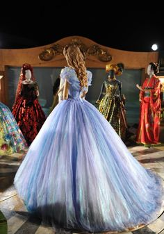 It took 20 minutes for Cinderella to get dressed… and that was AFTER ages of practice!