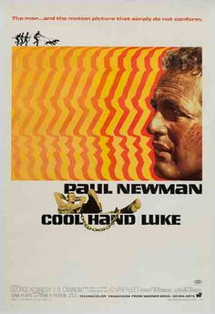 Cool Hand Luke 1967 original vintage US 1 sheet film movie poster - Orson & Welles. The poster that does not fail to communicate. The US one sheet for #CoolHandLuke, with artwork by James Bama, has some great pop art visuals that sums up effectively the film's essence and style. This #filmposter is in fantastic condition, the finest example we have seen and is a solid investment piece. #OrsonandWelles