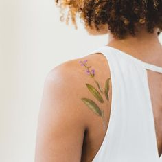 Why stick to regular temporary tattoos when you can enjoy scented stick-ons, courtesy of Tattly? We'll take 10 of these, thanks.