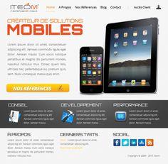ITEOM Site Redesign
