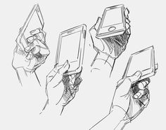 New drawing poses reference hand holding Ideas Hand Drawing Reference, Gesture Drawing, Anatomy Drawing, Art Reference Poses, Drawing Poses, Manga Drawing, Drawing Tips, Drawing Sketches, Art Drawings