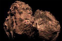Rosetta tira primeira foto colorida do cometa 67P