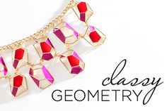 Whether your subject is math, science, or art, there's no denying that these looks are positively smart. From color-blocked patchwork to luxurious patterns to sharply minimal style, these geometric gems are at the top of their class.