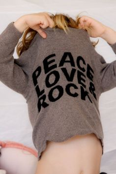 peace, love and rock