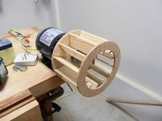 Woodworking Workshop Plans, Woodworking Crafts, Diy Shops, Dust Collector, Home Tools, Homemade Tools, Wood Turning, Grid, Furniture