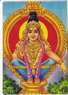 HiNDU GOD lord Ayyappa
