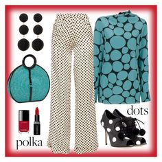 """Polka dots playground"" by tina-pencinger ❤ liked on Polyvore featuring Dolce&Gabbana, Marni, Johanna Ortiz, Magid, Smashbox, Chanel and Cara Accessories"