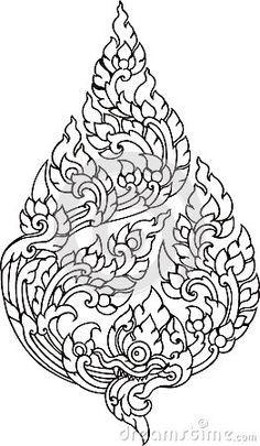 classic asian tattoo pattern - Sök på Google