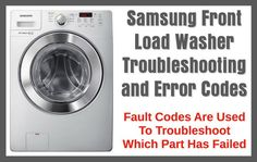 How to troubleshoot samsung washer displaying 4e error diy repair samsung front load washer troubleshooting and error codes fandeluxe Image collections