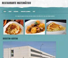 Restaurante matemático-  IES Comercio Muy buena idea para trabajar las matemáticas mediante ABP en secundaria.