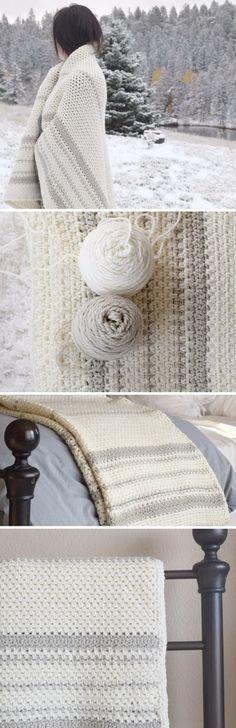 Mod Heirloom Crochet Blanket Pattern.                                                                                                                                                                                 More