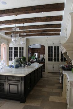 Happenings on the homefront and a winner! - The Enchanted Home Kitchen Built Ins, Kitchen Cupboards, Kitchen Pantry, Kitchen Ideas, Enchanted Home, Floor Colors, Bathroom Colors, Beautiful Kitchens, Home Remodeling