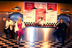 Marilyn Monroe, James Dean, Elvis Presley, Humphrey Bogart - Hollywood Wax Museum of Myrtle Beach