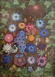 Sophie Grandval, Bird and Flowers