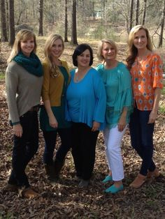 Ms Kay & her daughter-in-law's!!  From the left, Missy, Jessica, Ms Kay, Lisa (?) and Korie