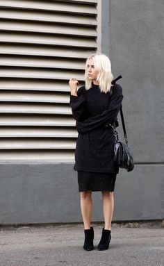 To avoid any pre-party panic, we rounded up 10 foolproof dinner party outfit ideas for you to keep in mind this season. Minimal Chic, Minimal Fashion, Street Style, Street Chic, Street Fashion, Coco Chanel, Her Style, Cool Style, Chic Minimalista