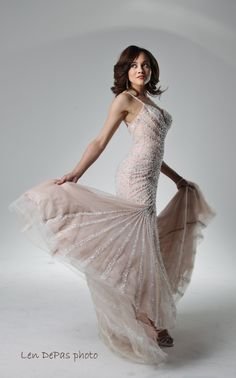 Ashley Boalch, Miss DC 2011 . Her formal  photo shoot