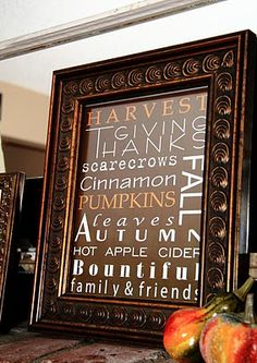 Simply Klassic Home: My Fall Mantle and Fall Scripture & Subway Art Printables