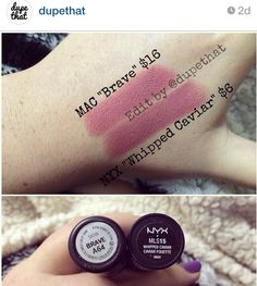 Mac Brave - Nyx Whipped Caviar