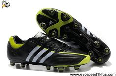 6e5fea956ef Adidas adiPure V Kaka TRX FG - miCoach compatible Firm Ground Soccer Cleats  - Black White Slime