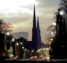 """Scottish city Aberdeen is known as Europe's oil capital, or the """"Granite City""""."""