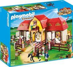 Brinquedo PLAYMOBIL Large Horse Farm with Paddock #Brinquedo #PLAYMOBIL