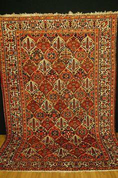 antique rug bakhtiyar  handrug 298x209cm  antico tappeto