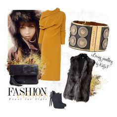 """Cuff bracelet and fall colors"" by kattjaf on Polyvore"